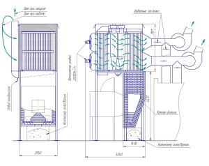 Подогреватель воздуха схема работы