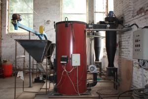 Отопление больших зданий и производственных помещений