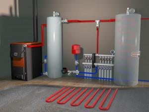отопление промышленных зданий и цехов