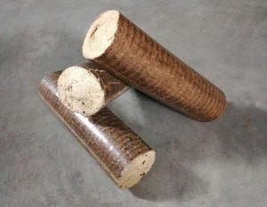 Фото с изображением брикетов для отопления.